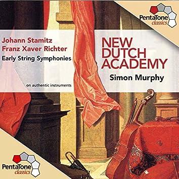 Stamitz & Richter: Early String Symphonies, Vol. 1