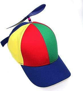 U&X Propeller mütze Helikopter Cap Baseball Hubschrauber Kappe Bunte Mütze für Jungen und Mädchen