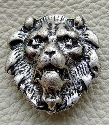 Gürteltasche Löwe Leder Farbe schwarz Leon - 5