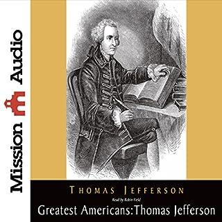 Page de couverture de The Greatest Americans: Thomas Jefferson