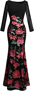 Best long sleeve formal dress patterns Reviews