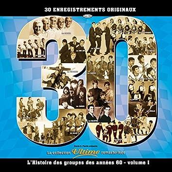 L'histoire des groupes des années 60-volume 1