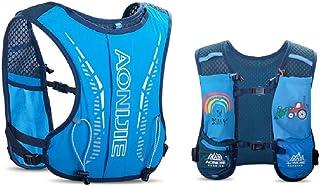 Mochila de hidratación para niños, de 2,5 l, con bolsa de agua de 750 ml, para senderismo, bicicleta, escalada