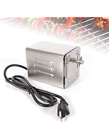 Nrpfell Universal EU Plug BBQ Grill Motor Electric Barbecue Rotisserie Motor Kitchen Appliance Parts Replacement