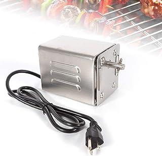 HUKOER SP-S40 akcesoria do grilla ze stali nierdzewnej do pieczenia silnik elektryczny koza świnka kurczak grill rożen ros...