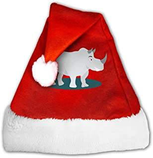 Rhinos are Just Chubby Unicorns Funny Christmas Hat Childrens and Adults Party Hat