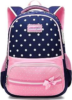 Girls School Backpack Kids Elementary School Bags Bookbag