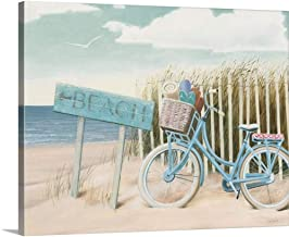 Amazon Com Beach And Bicycle Paintings