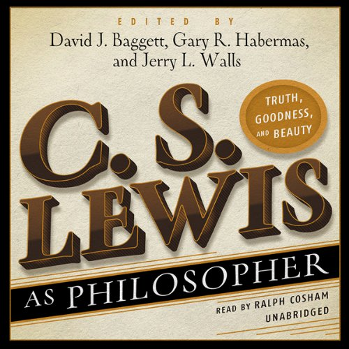 C. S. Lewis as Philosopher cover art