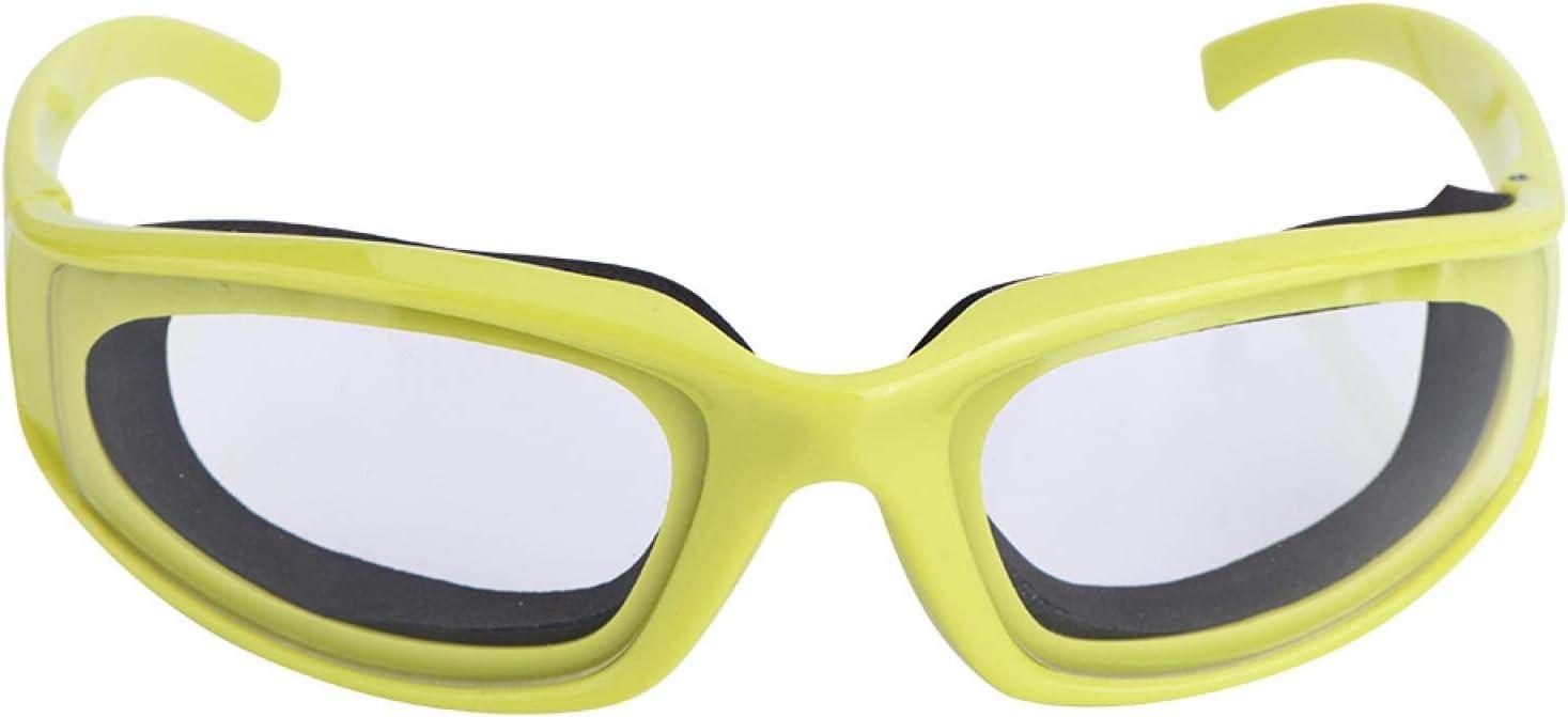 Raguso Gafas Anti-Picante para Cortar Cebolla, Gafas Protectoras antisalpicaduras, Gafas sin lágrimas, a Prueba de Viento, a Prueba de Polvo, Protector Ocular, artilugio de Cocina