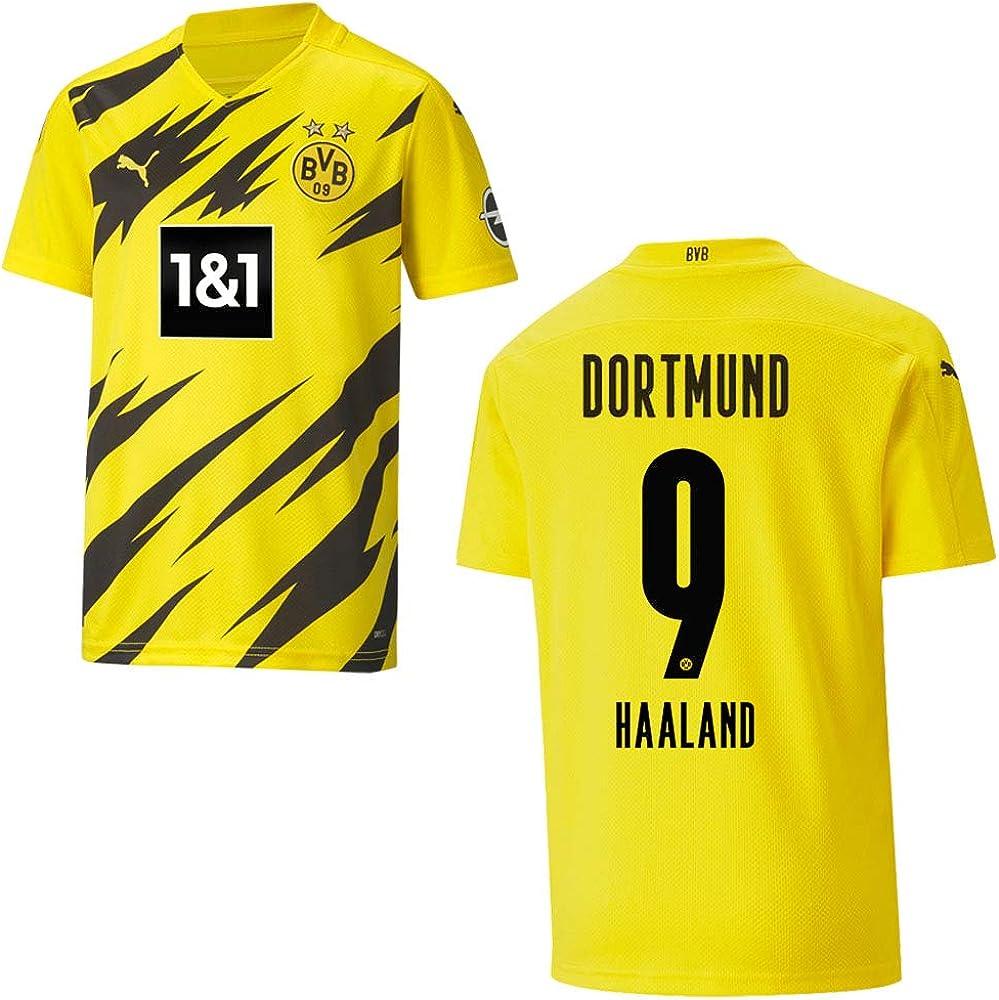 PUMA Camiseta del Borussia Dortmund 2021 - HAALAND 9 ...