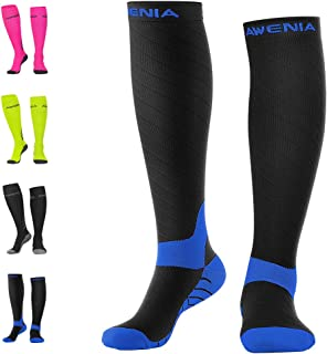 Awenia Compression Socks for Men and Women, Anti Fatigue