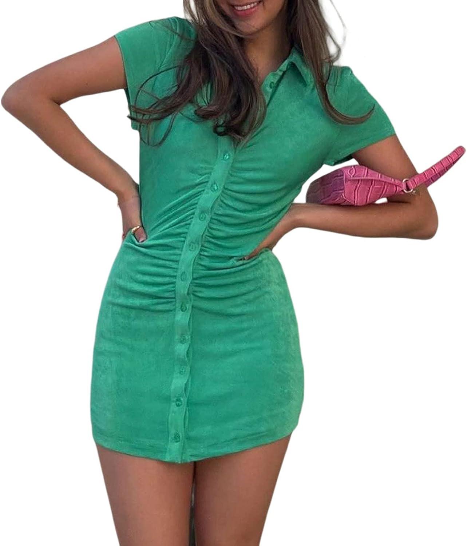 Women Y2K 90s Vintage Sexy Dress, E-Girl Retro Printing Personality Slim Hot Dress Summer Clothes Streetwear