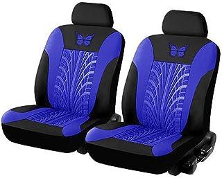 Conjunto de 9 peças de capas de assento universais para carro, lindo padrão de borboleta, protetor de assento automotivo, ...