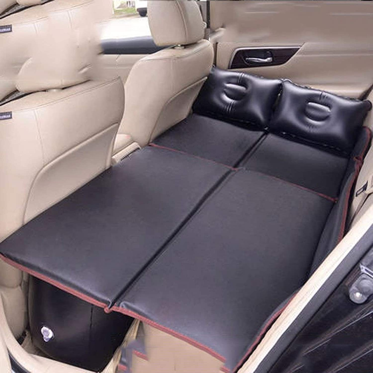 SPTAIR Auto Car Inflatable Air Mattress Bed for Back Seat of Cars SUV's and MidSize Trucks Outdoor Travel Camping Universal