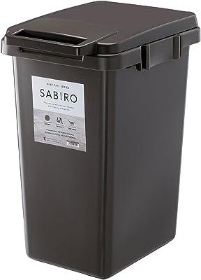 リス ゴミ箱 連結ワンハンドペール ブラウン 47L SABIRO 日本製 45J