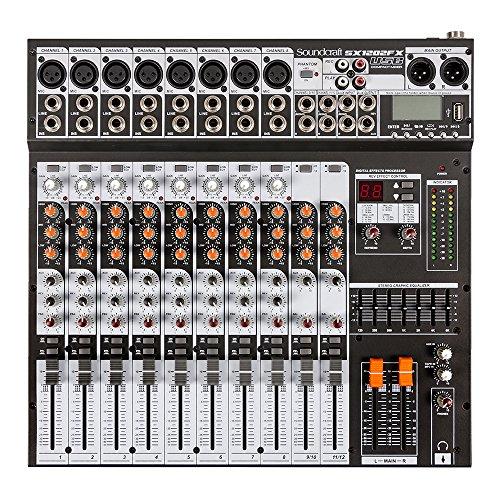 Mixer 16 canais - JBL Proaudio - SX 1202FX USB