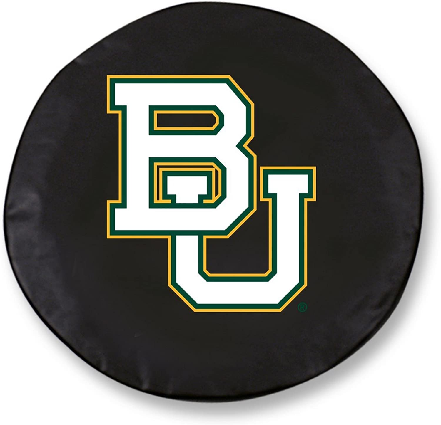 Baylor Bears HBS Black Vinyl Fitted Spare Car Tire Cover