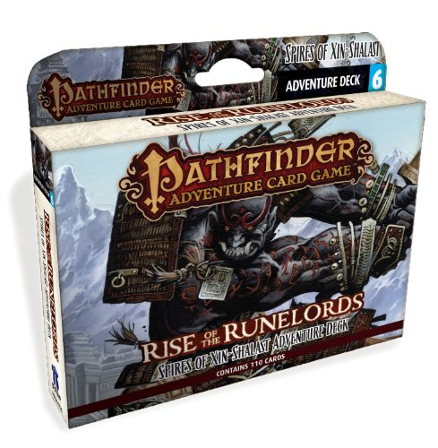 Pathfinder Adventure Card Game - Rise of the Runelords Deck 6 - Spires of Xin - Shalast Adventure Deck - version anglaise