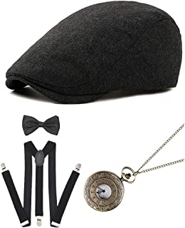 Best newsboy hat and suspenders Reviews