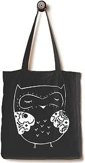 owl canvas bag