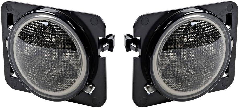 LED Side Regular dealer Maker Lights Compatible with JK Max 60% OFF JKU 2007-2017 Wrangler