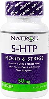 Natrol 5-HTP 50mg, 45 Capsules (Pack of 2)
