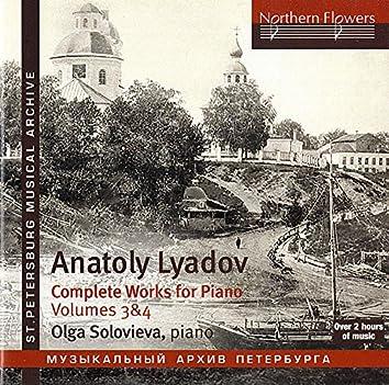Liadov: Complete Works for Piano, Vols. 3 & 4