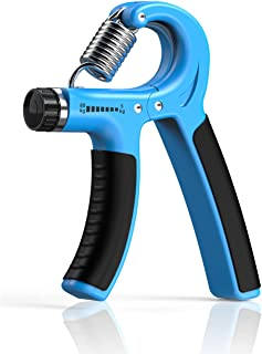 Longang Hand Grip Strengthener with Adjustable Resistance 11-132 Lbs (5-60kg), Wrist Strengthener