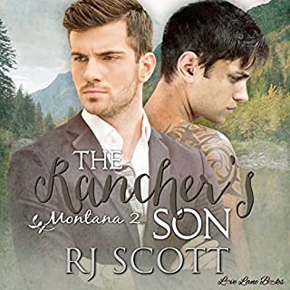 The Rancher's Son audiobook cover art