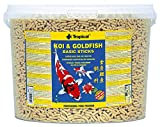 TROPICAL Koi & Goldfish Basic Sticks Nourriture pour Aquariophilie 11 L