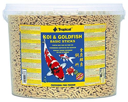 TROPICAL Koi & Goldfish Basic Sticks Nourriture pour Aquariophilie 11 L