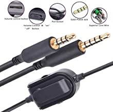 A30 Wireless Headphones Wire Lead Replacement Astro Gaming Headset Mobile Aux Cable A40 Gen 1 /& Gen 2 TR