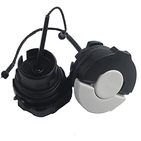 2Pcs//set fuel gas oil filler cap for stihl chainsaw MS200 MS210 MS230 MS250  BW