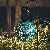 solarleuchte LED Solarlaterne für außen Solarlampe für Außen Gartendeko Weiß Lichter Solar Gartenlaterne