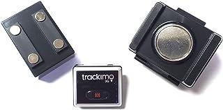 [セット品] 3点セット Trackimo(トラッキモ) 小型GPSトラッカー [TRKM-010] リアルタイム追跡GPS発信機 + マグネット付き防水ケース (大容量3500mAhバッテリー内蔵) + 小型ケース