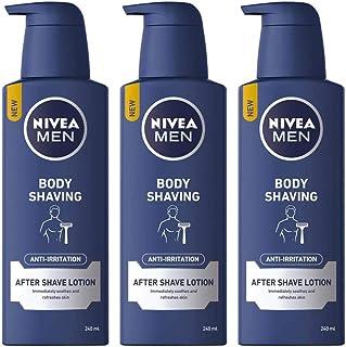 Pack of 3 NIVEA MEN Body Shaving Anti-Irritation After Shave