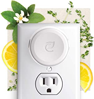 Enviroscent Plug Hub Warmer Starter Kit, Includes Refillable Plug Hub and 2 Liquidless Scent Pods (Lemon Leaf + Thyme)