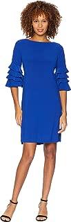 royal blue jacket dress