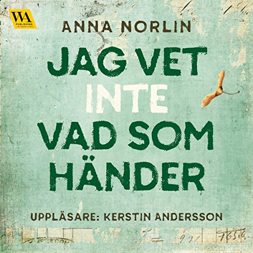 Jag vet inte vad som händer Audiobook By Anna Norlin cover art