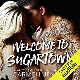 Welcome to Sugartown                   By:                                                                                                                                 Carmen Jenner                               Narrated by:                                                                                                                                 Rupert Hamilton,                                                                                        Jenny Walters                      Length: 8 hrs and 37 mins     5 ratings     Overall 4.6