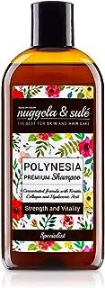 Nuggela & Sulé Polinesia Champú Premium con Keratina Colágeno y Ácido Hialurónico Cuerpo y Vitalidad - 250 ml