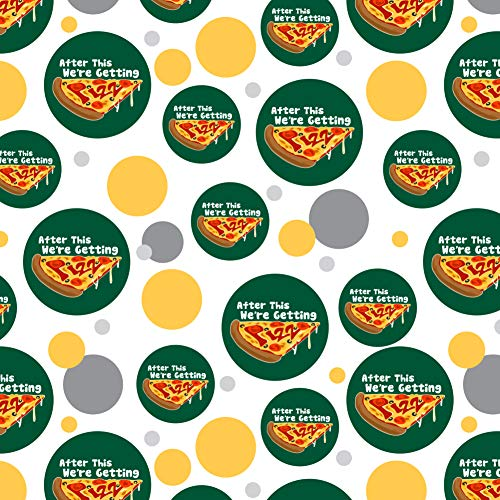 GRAPHICS & MORE After This We're Getting Pizza Funny Premium Gift Wrap Wrapping Paper Roll