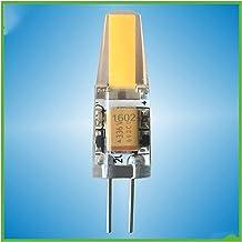 EMGQ Energiebesparende gloeilamp 10 stks LED-lampen Dimmen 110V 220V hogedruk silicagel 1.5w LED G4