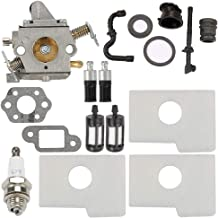 Anzac MS180C Carburetor for Stihl MS170 MS180 MS170C 017 018 Chainsaw Replace C1Q-S57A C1Q-S57B 1130-120-0603