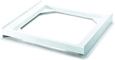 blanco Meliconi Base Torre Slim Kit de sobreposici/ón de tecnopol/ímero para lavadora y secadora SLIM