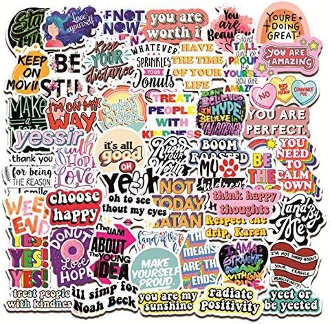 50 Pcs Inspirational Stickers Reward Motivational Sticker Packs for Students Teachers Teens product image