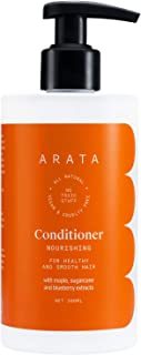 Arata Natural Nourishing Hair Conditioner with Maple,Sugarcane & Blueberry Extracts for Men & Women || All Natural,Vegan & Cruelty Free || For Healthy & Smooth Hair -300 ml