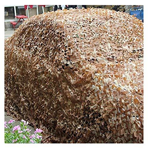 Net bruin camouflage vela oogschaduw 4 x 5 m, afdekking voor auto decoratie tuin net zonwering zonnescherm zonnescherm zonnescherm zonnescherm fotografie jachtformaat
