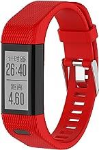 Compatible with Garmin Vivosmart HR+ Bands Women Men, Replacement Silicone Band Straps Bracelet Wristbands for Vivosmart HR Plus, Approach X10, Approach X40